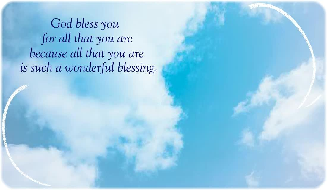 You Are A Blessing Ecard American Greetings