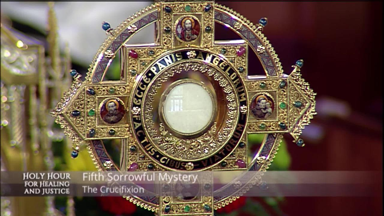 2019-07-28 - Holy Hour for Healing and Justice