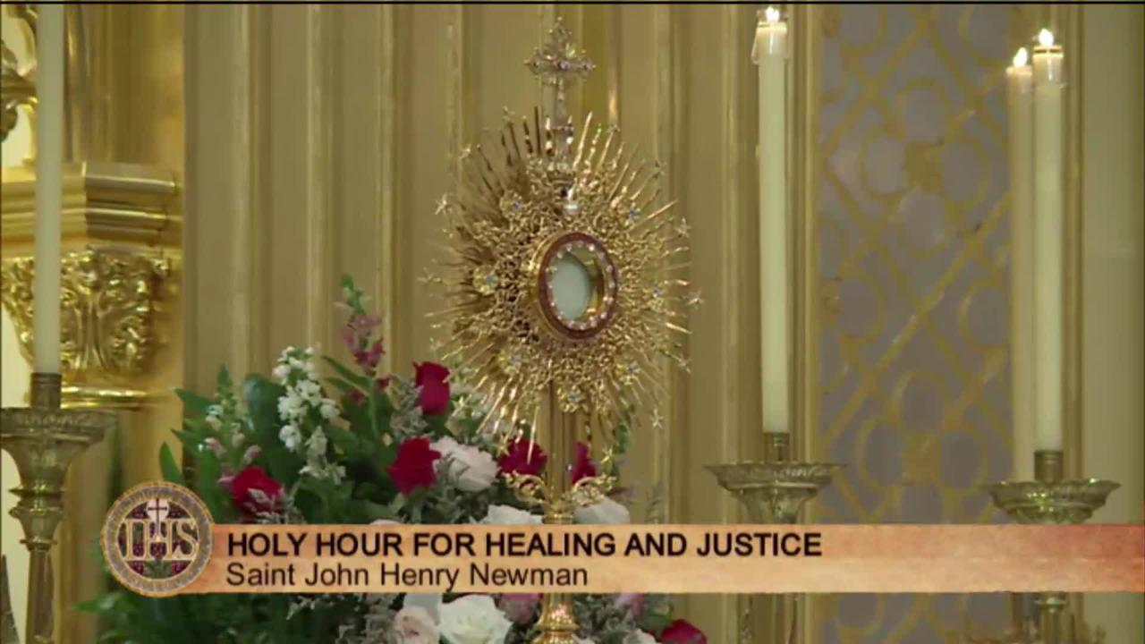 2019-10-13 - Holy Hour for Healing and Justice