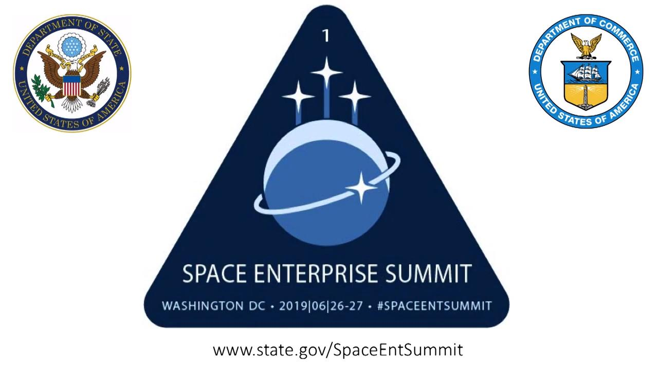 Video: Space Enterprise Summit - Welcome and Opening Remarks