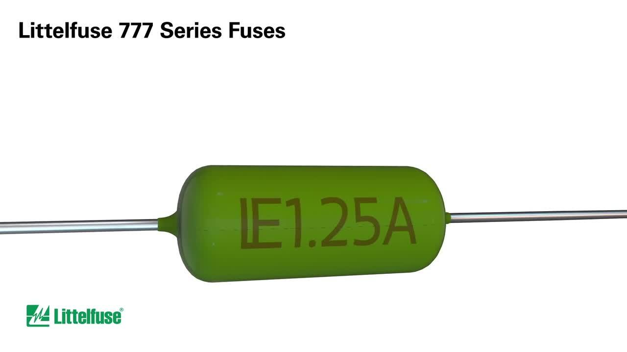 777 Series 3 6x10mm Fuses Axial Radial Thru Hole From Littelfuse Fuse Box Holder