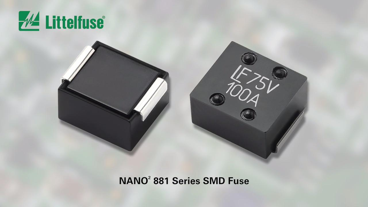 881 Series Nano 2 Fuses Surface Mount From Littelfuse Resistor Color Code And Smd Calculator Software Electronic Circuits