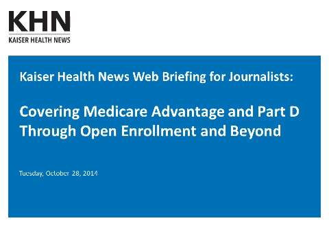 The Lowdown On Open Enrollment For Medicare Advantage And Part D ...