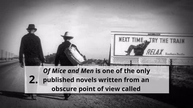 of mice and men structure