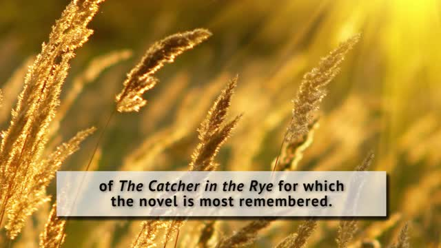 literary essay on the catcher in the rye