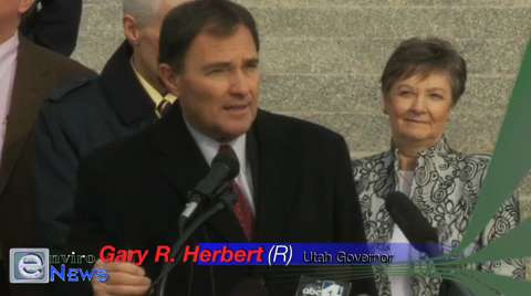 """Governor Gary Herbert Gives His Concluding Thoughts at the """"Clean Air Challenge"""" Press Conference"""