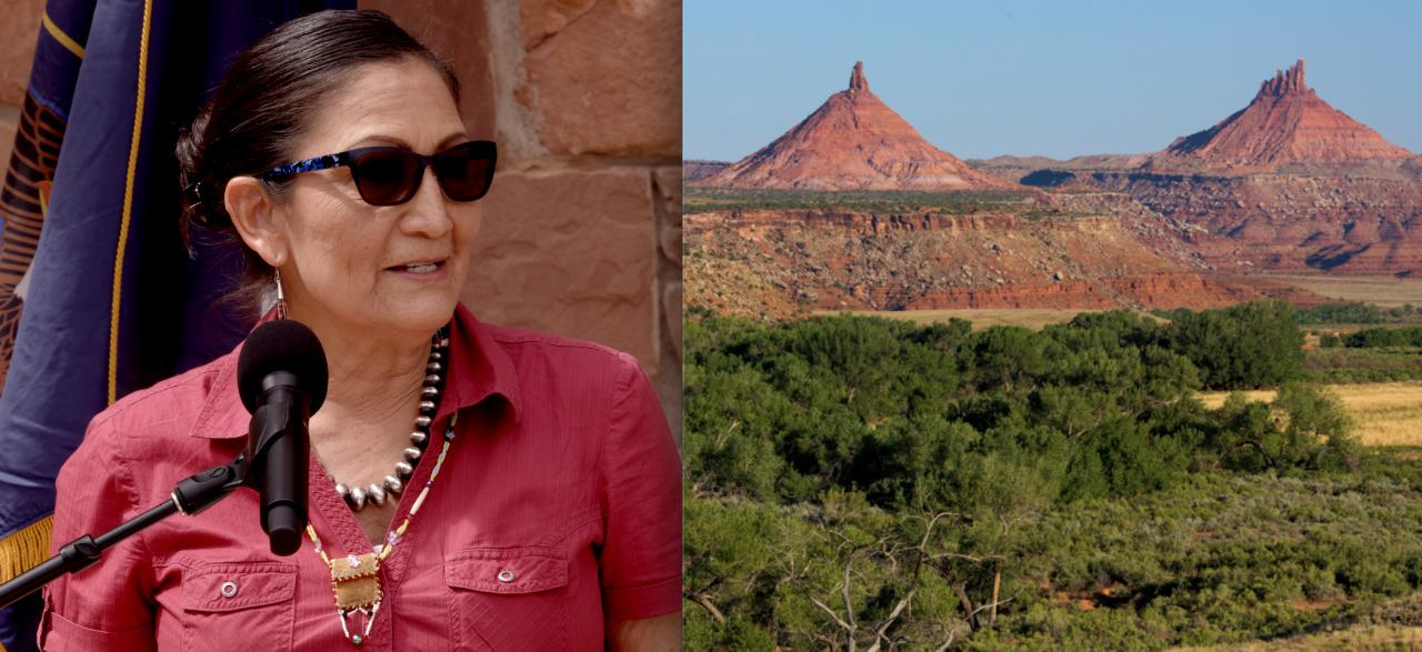 Sec. Deb Haaland Addresses Tribal Leaders, Gov. Officials, Stakeholders, in Historic Sojourn to Bears Ears; Taped in 12K by EnviroNews