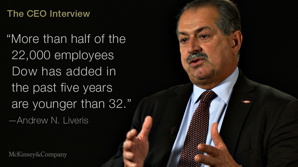 How Dow Reinvented Itself McKinsey Beauteous Dow Quote