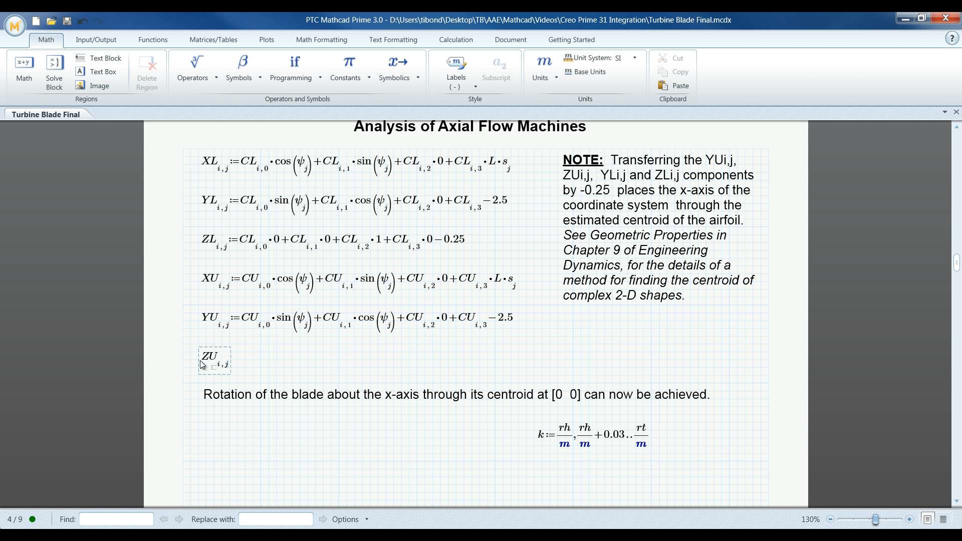 PTC Mathcad: For the CAD Engineer