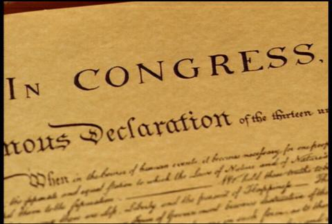 Declaration Of Independence 1
