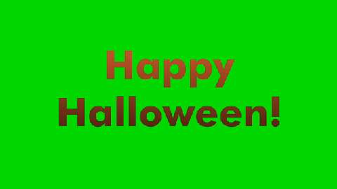 Animated Happy Halloween