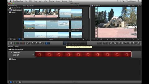 Importing from Camera, Archive, or iMovie