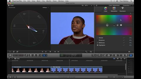 Manual Primary Color Correction