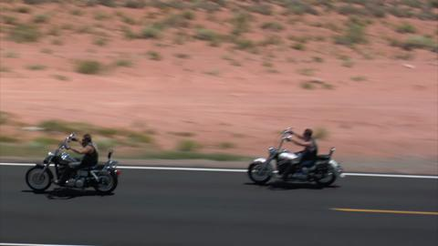 3 Motorcycles On Monument Hwy