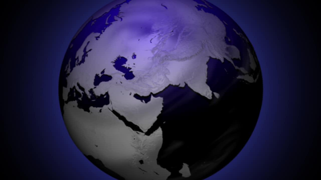 Animated Earth Globe