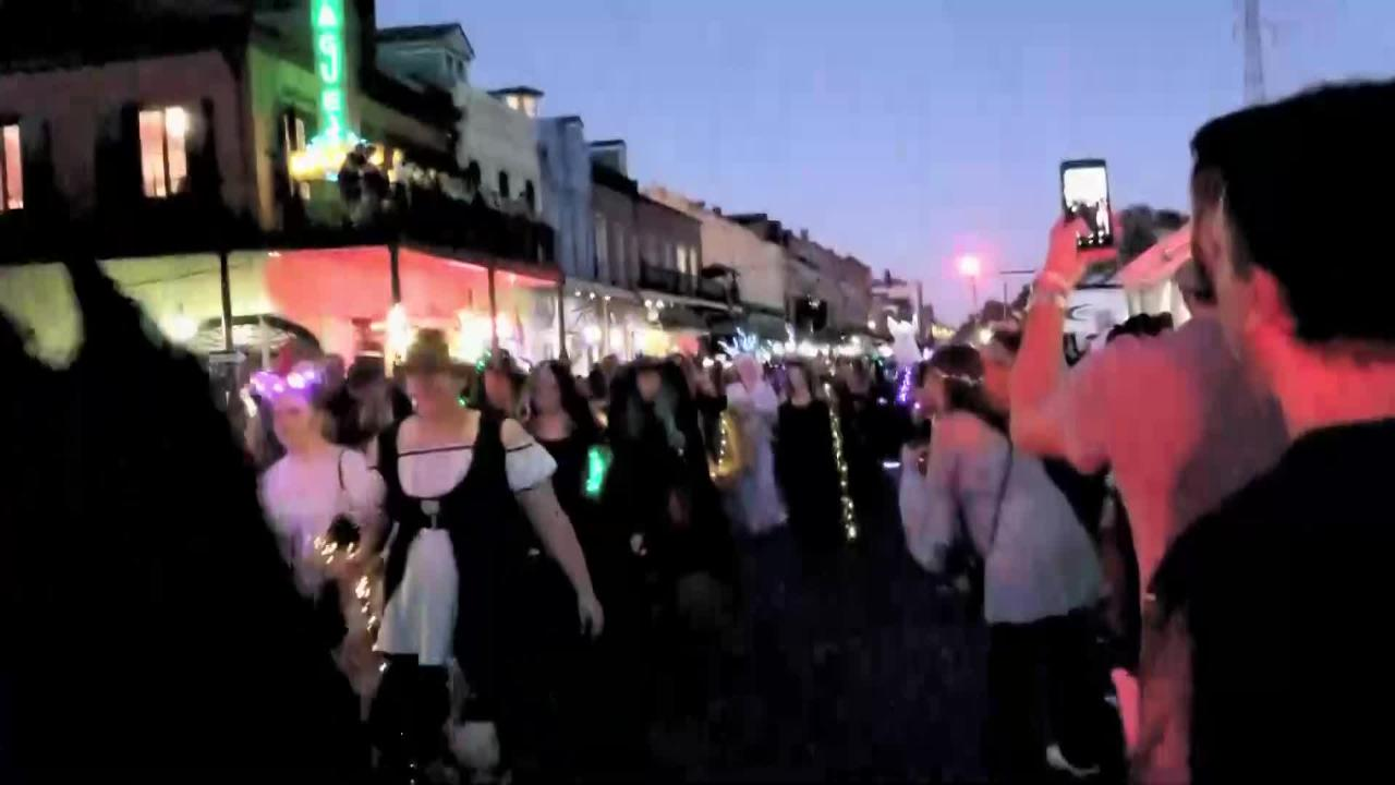 From New Orleans Halloween Parade