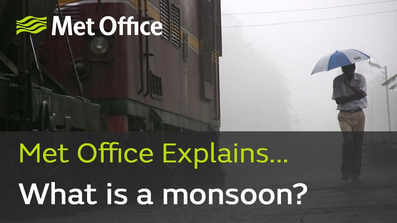 60% of the world's population live in a monsoonal climate, with well-defined dry and wet seasons. What is a monsoon and what causes such a dramatic seasonal change in weather? Met Office meteorologists Clare Nasir and Aidan McGivern explain all.