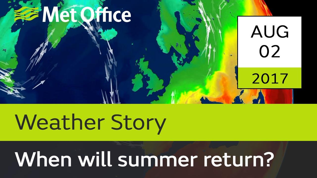 It's not unusual for August to be wet but many are wondering where has summer gone? Alex Deakin explains what's causing this wet and unsettled summer weather.