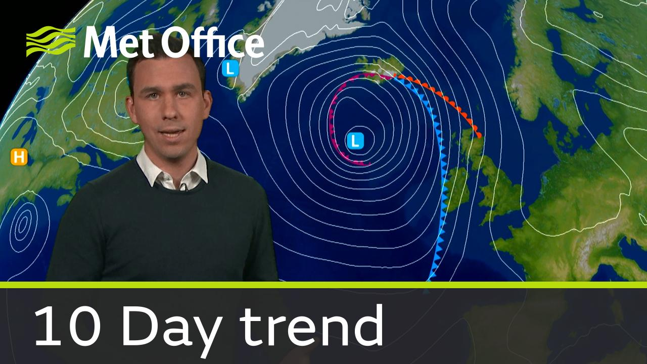 Aidan McGivern takes a look at the weather for the next ten days.