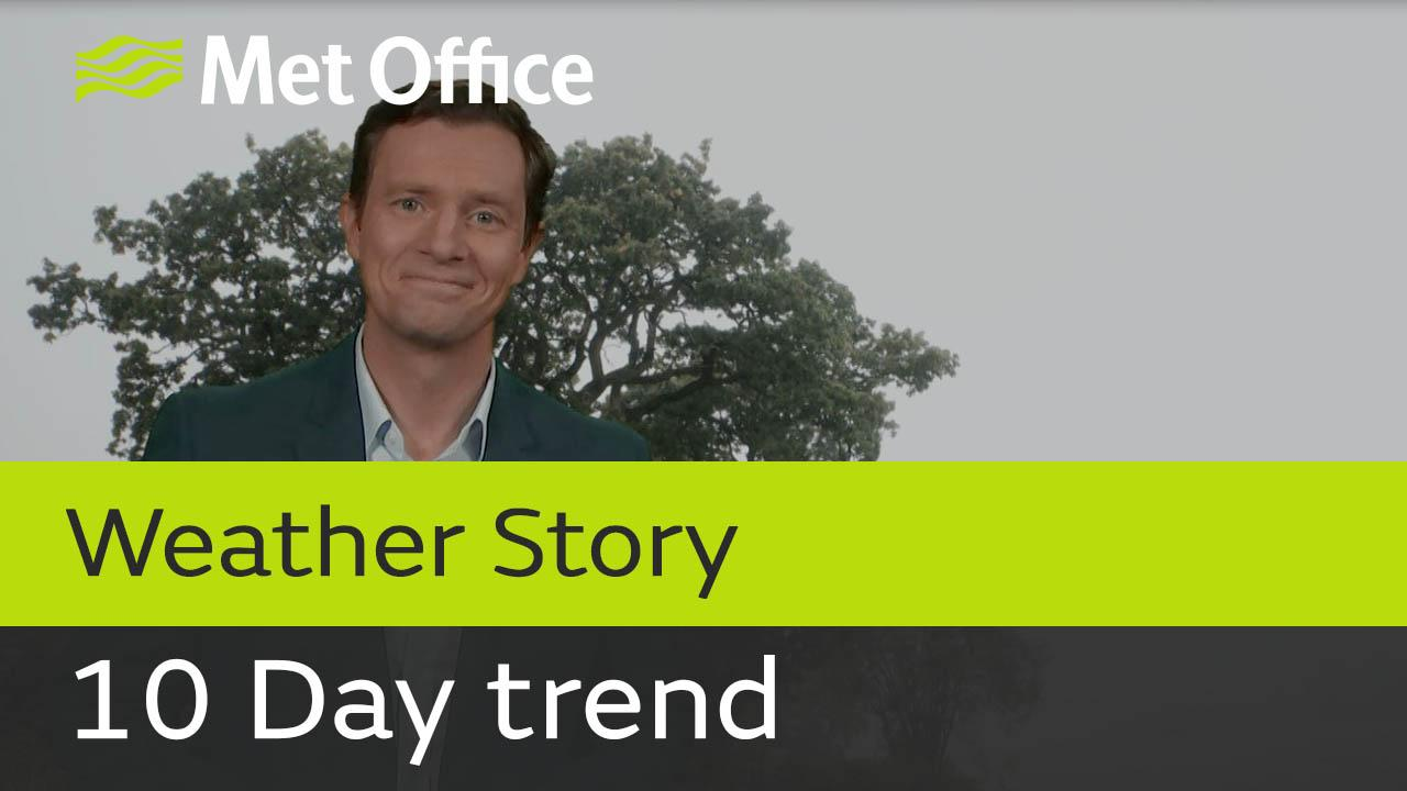 Alex Deakin takes a look at the weather for the next 10 days.