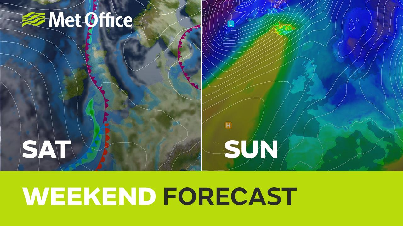 A cold weekend lies ahead but will there be any sunshine and will there be any snow. Alex Deakin has the details and uses our new touchscreen to explain things in more detail.