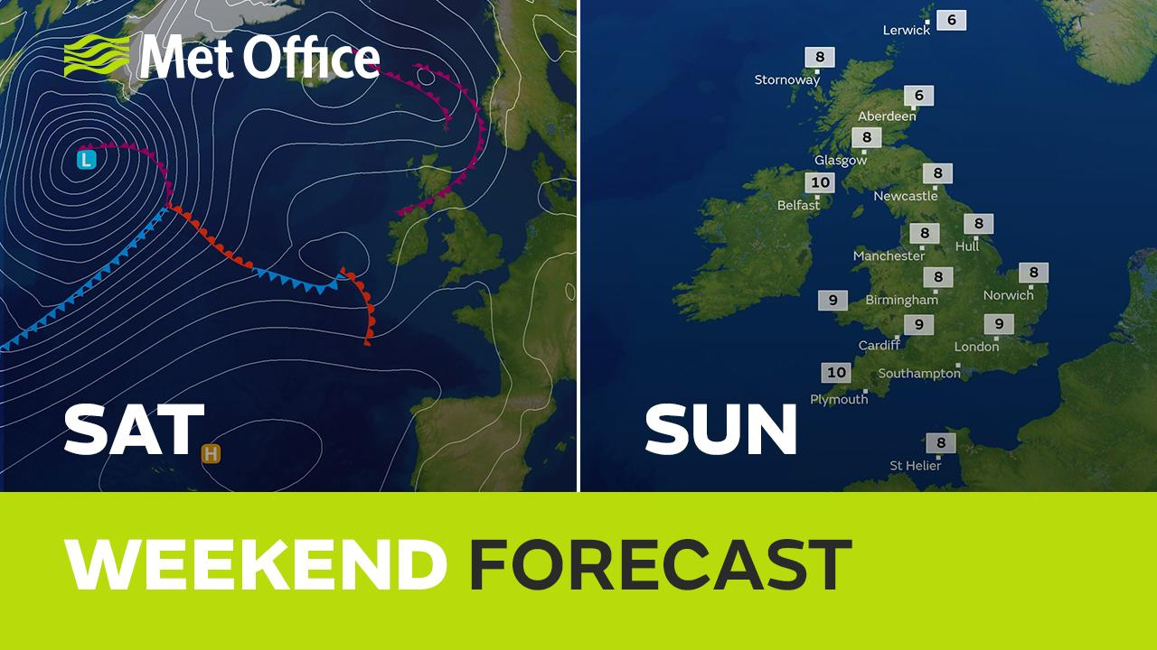 It's been a cold start to February but the weekend promises something a little bit milder. Saturday will be dry for many but there is the likelihood of some rain arriving on Sunday. Alex Deakin talks us through the forecast and uncertainties.