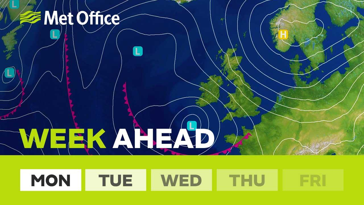 This week will see spells of rain and blustery winds across the UK. For the most part it will be quite mild but there are signs it will turn colder by the weekend. Alex Deakin explains how the chill may well come back, bringing the chance of snow.