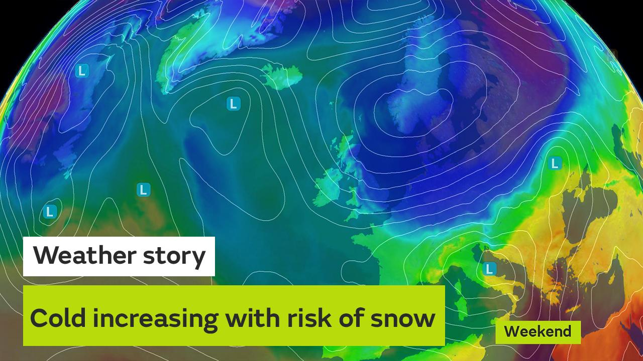 Another bout of cold air will hit the UK this weekend severe frosts and a bitter wind are expected, but will we see any more snow? Alex Deakin explains the uncertainties in the forecast and the chances of any further heavy falls of the white stuff.