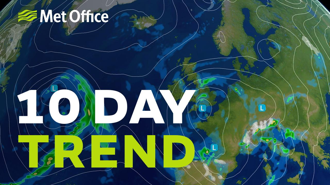The weather will be changeable over the Easter period and chilly too. With the jet stream likely to remain to the south of the UK well into next week not much is expected to alter.  Alex Deakin has a look at the meteorological trends for next week.