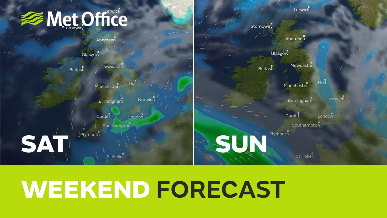 Clare Nasir has the forecast for the Easter bank hoilday weekend.