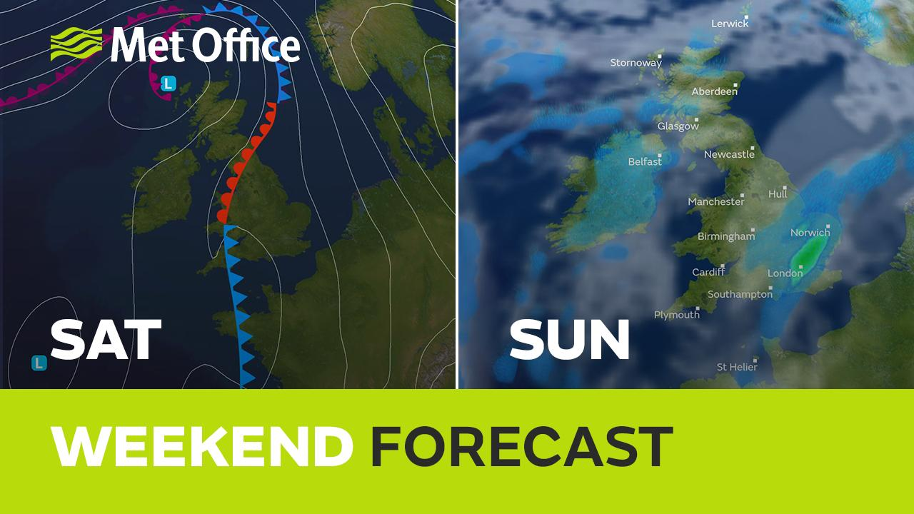 It's typical April fayre this weekend with some warmth, some heavy downpours and some Spring sunshine too. When will you see what? Alex Deakin has the details.