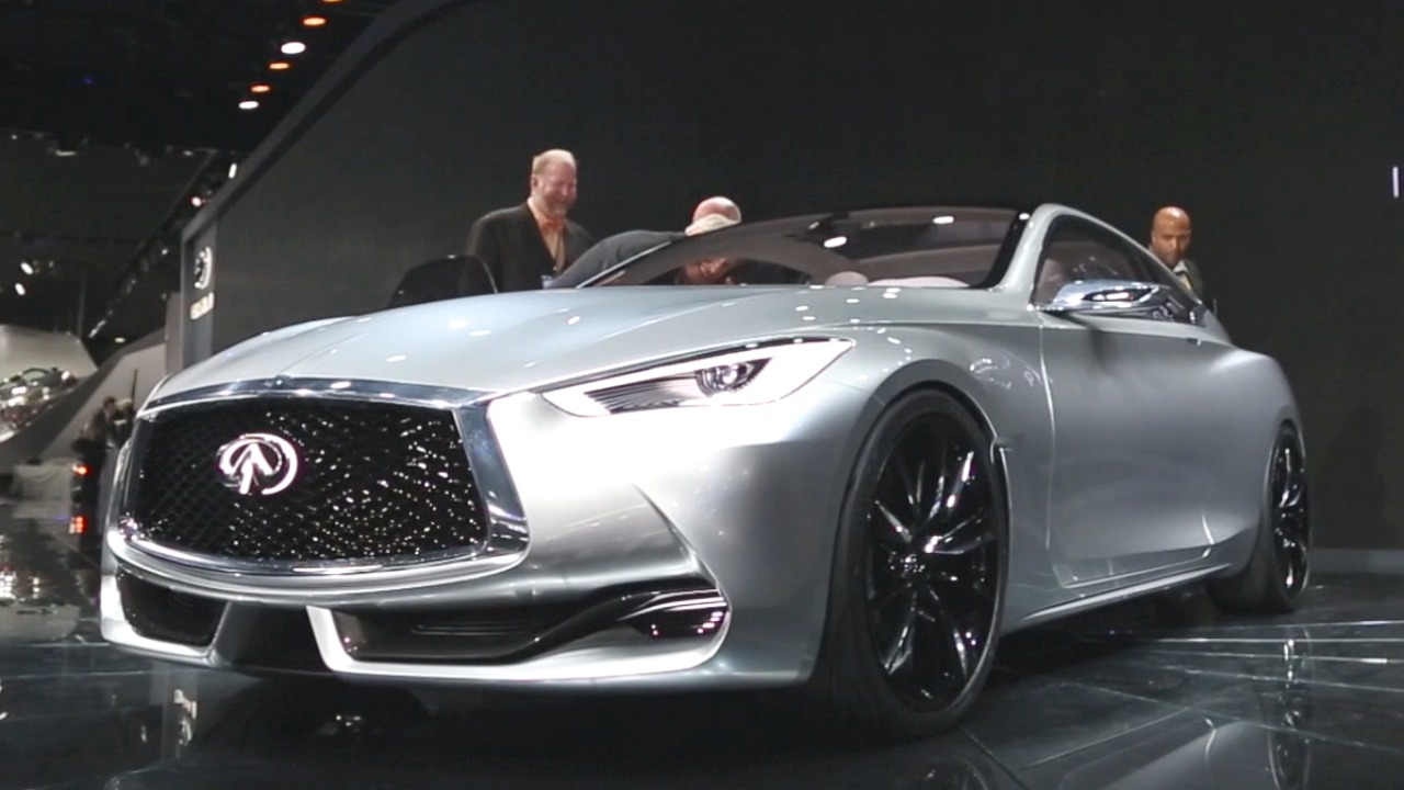 Infiniti infiniti concept car : Infiniti Q60 Concept previews new high-performance coupe (+VIDEO ...