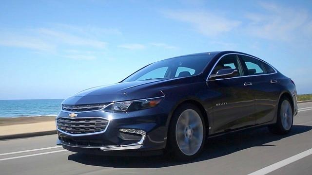 2017 Chevrolet Malibu Buyer's Guide - Kelley Blue Book