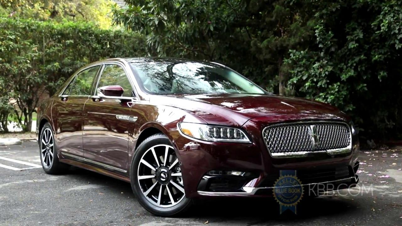 2017 Lincoln Continental: Video Review and Road Test | Kelley Blue ...