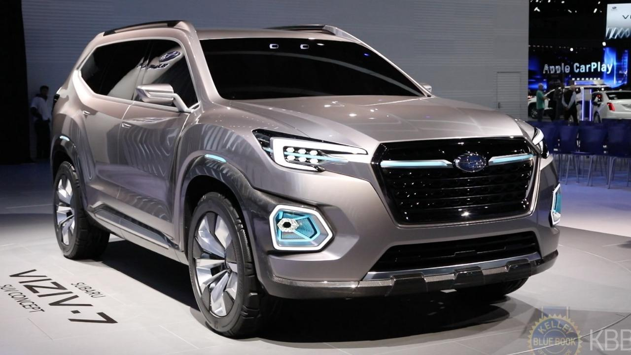 subaru viziv 7 concept new midsize suv for 2018 kelley blue book. Black Bedroom Furniture Sets. Home Design Ideas