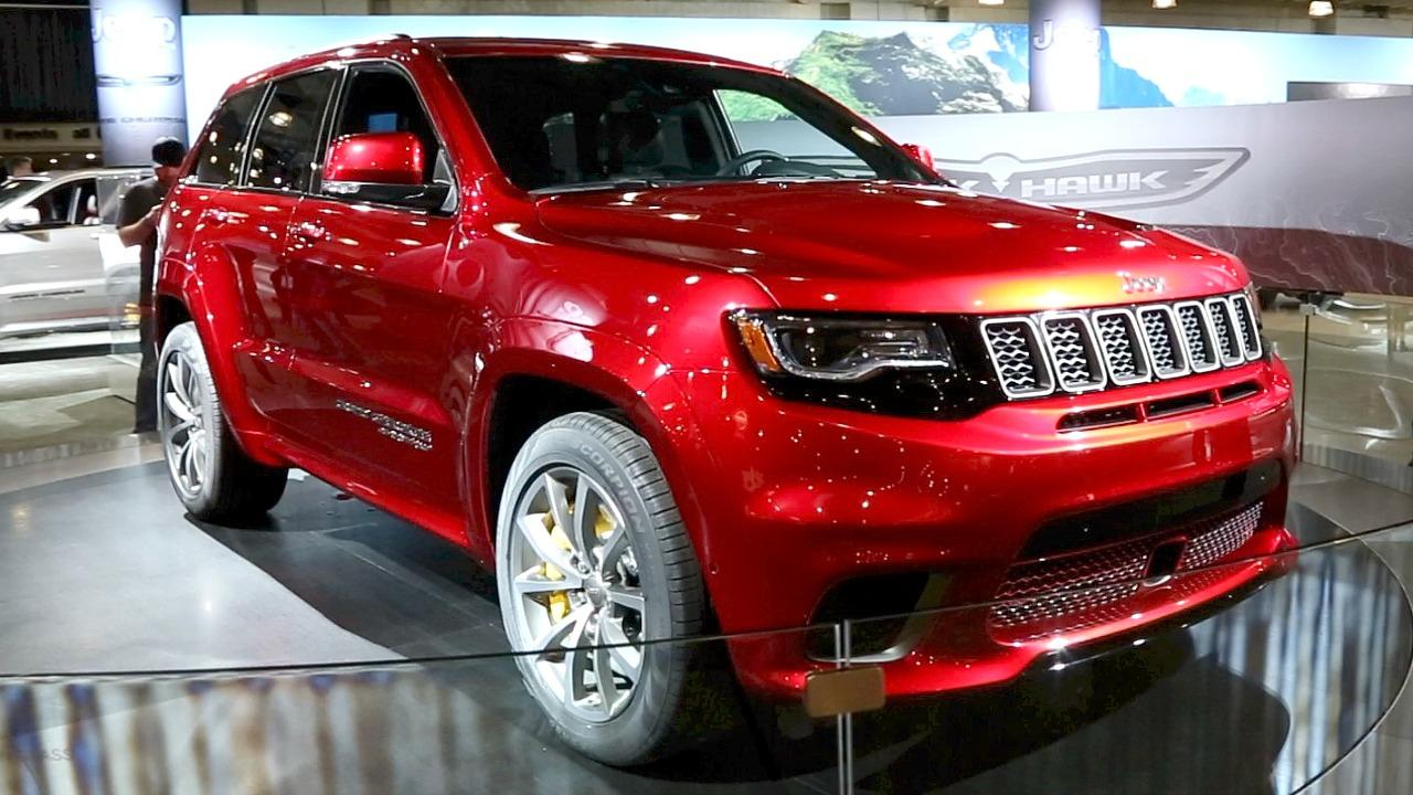 2018 Jeep Grand Cherokee Trackhawk: SUV with a Hellcat heart ...