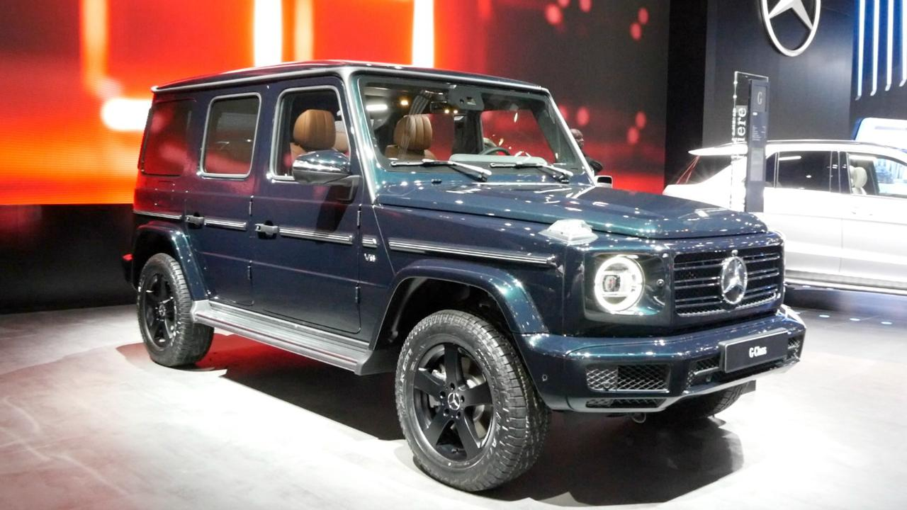 2019 Mercedes Benz G Class Debuts Kelley Blue Book