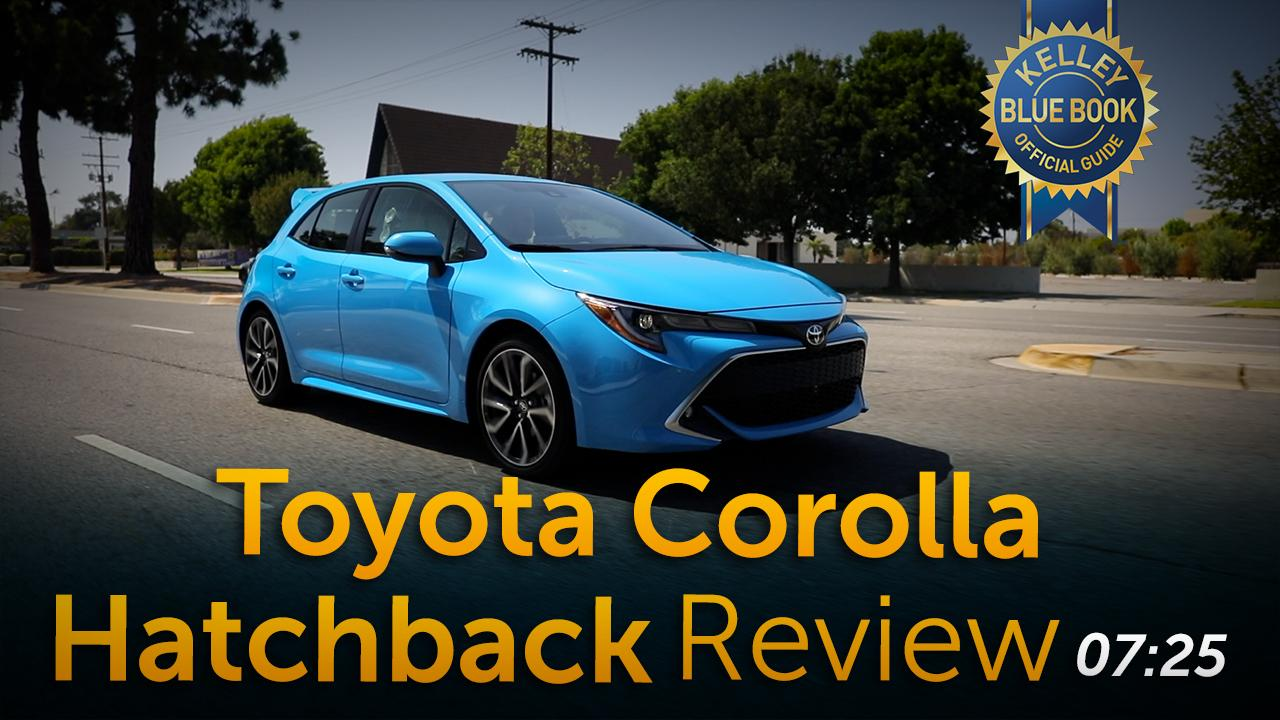 2019 Toyota Corolla Hatchback First Review Kelley Blue Book