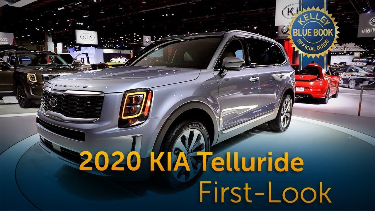 2020 Kia Telluride First Look Kelley Blue Book