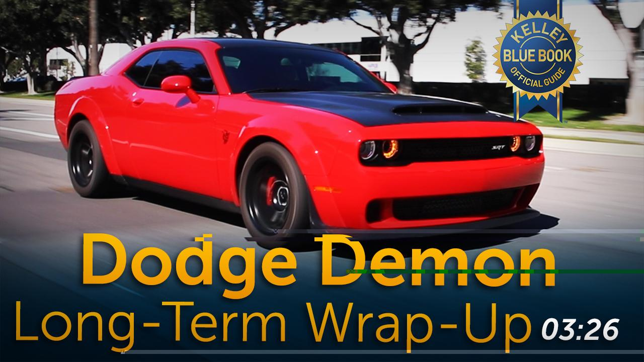 Dodge Demon - Long-Term Wrap-Up