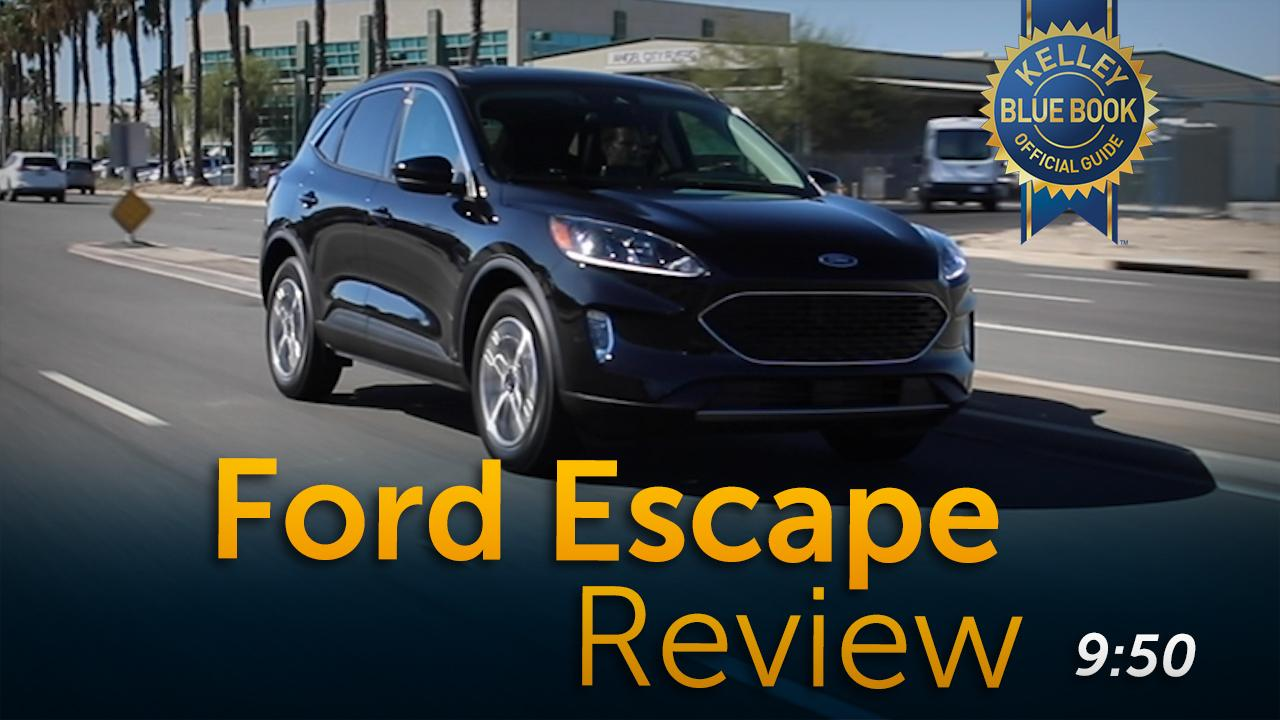 2020 Ford Escape Video