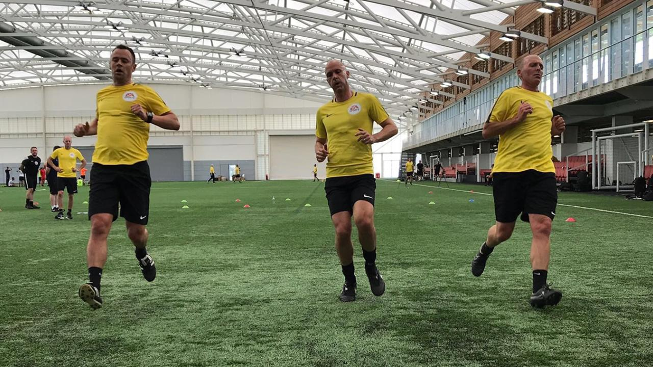 Oliver  Refs must match players for fitness b157ca411