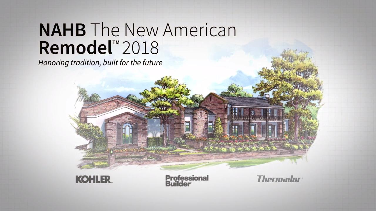 2018 New American Remodel: Phase 1