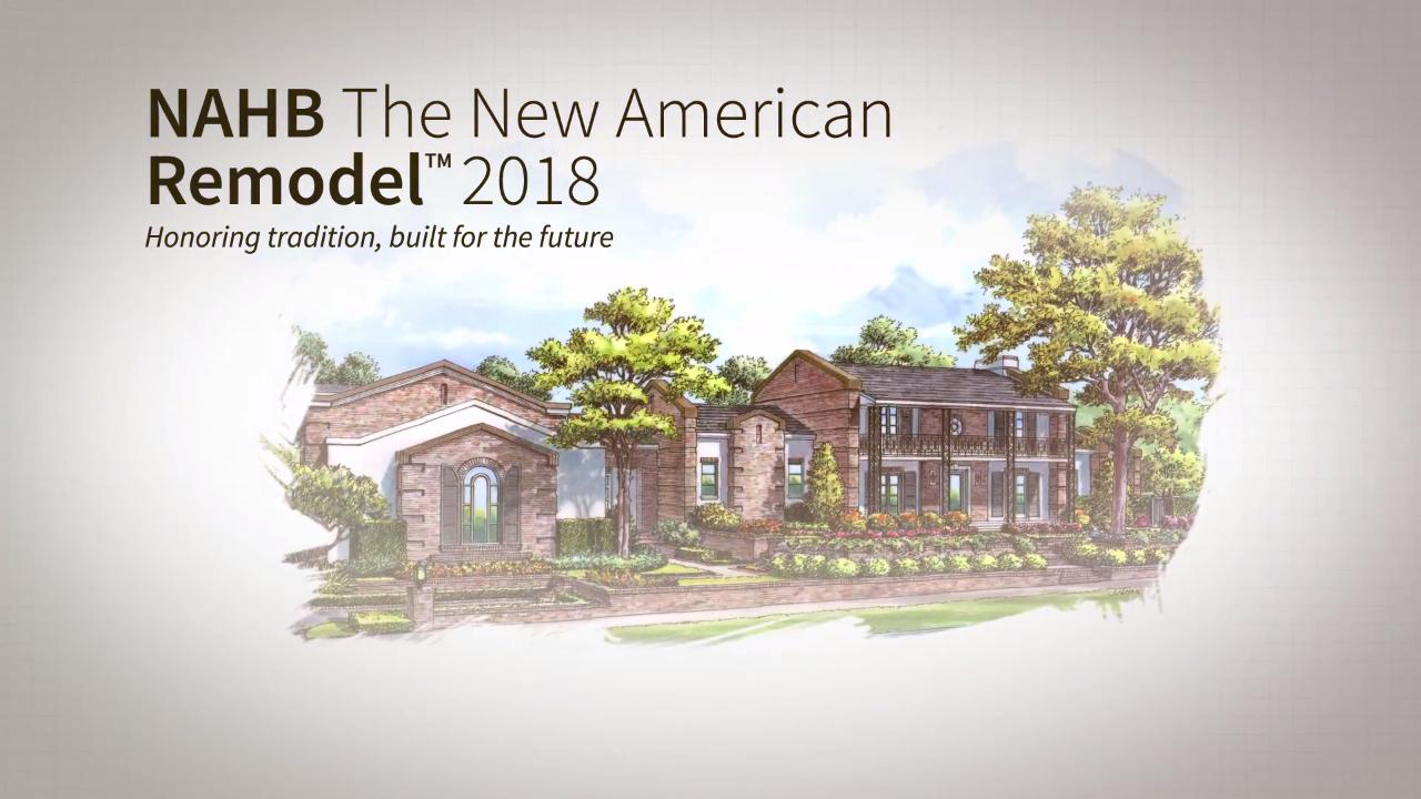 2018 New American Remodel: Phase 3