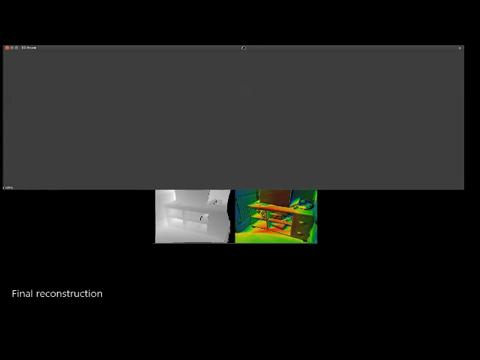 Real-time large-scale dense RGB-D SLAM with volumetric fusion