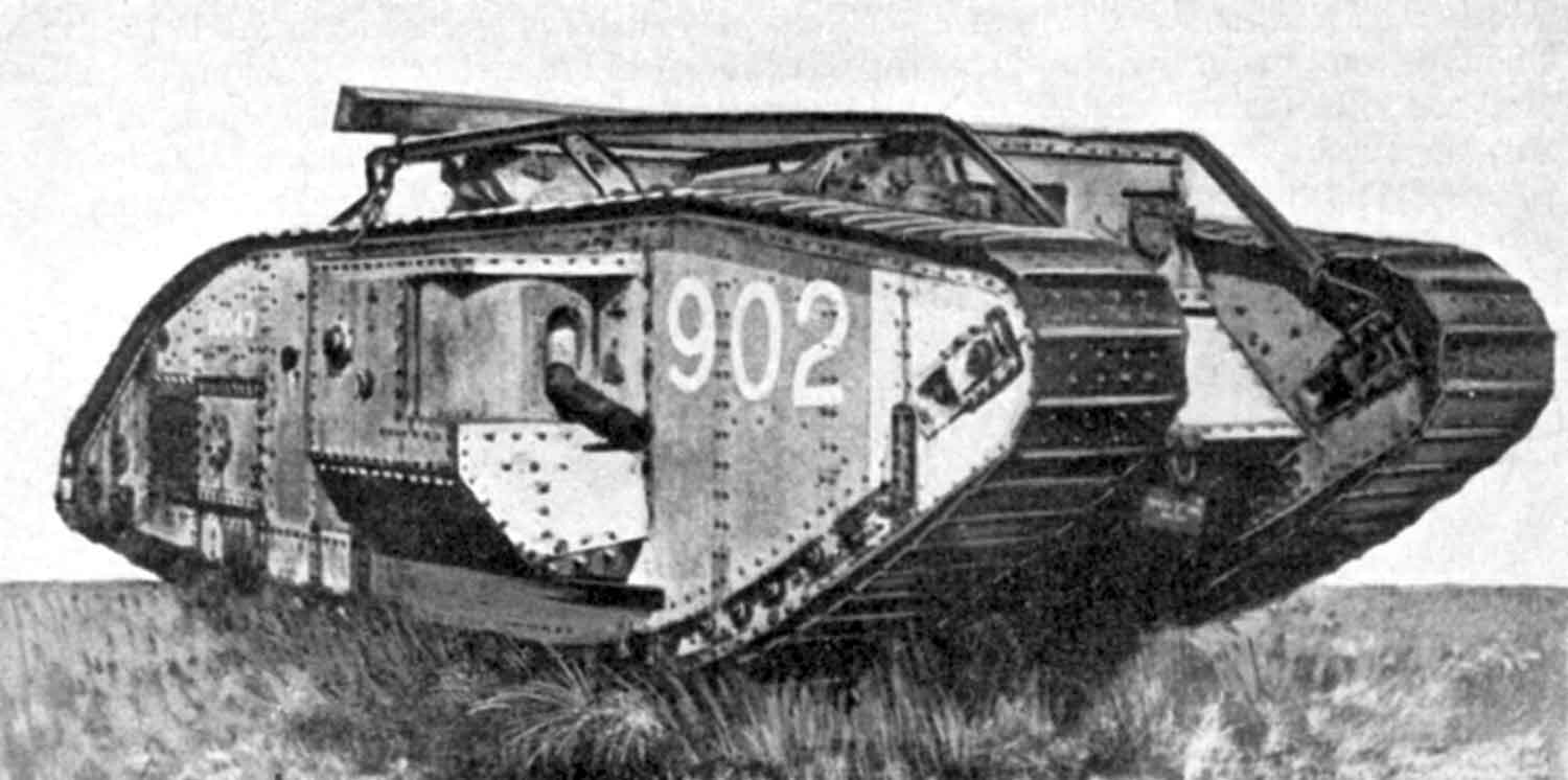 The first tanks of the First World War. Breakthrough in the technical equipment of the armies 22