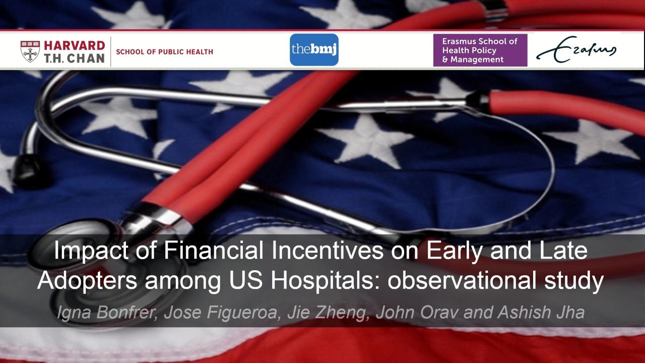 Impact of Financial Incentives on Early and Late Adopters