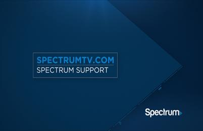Link to support video about SpectrumTV.com Video