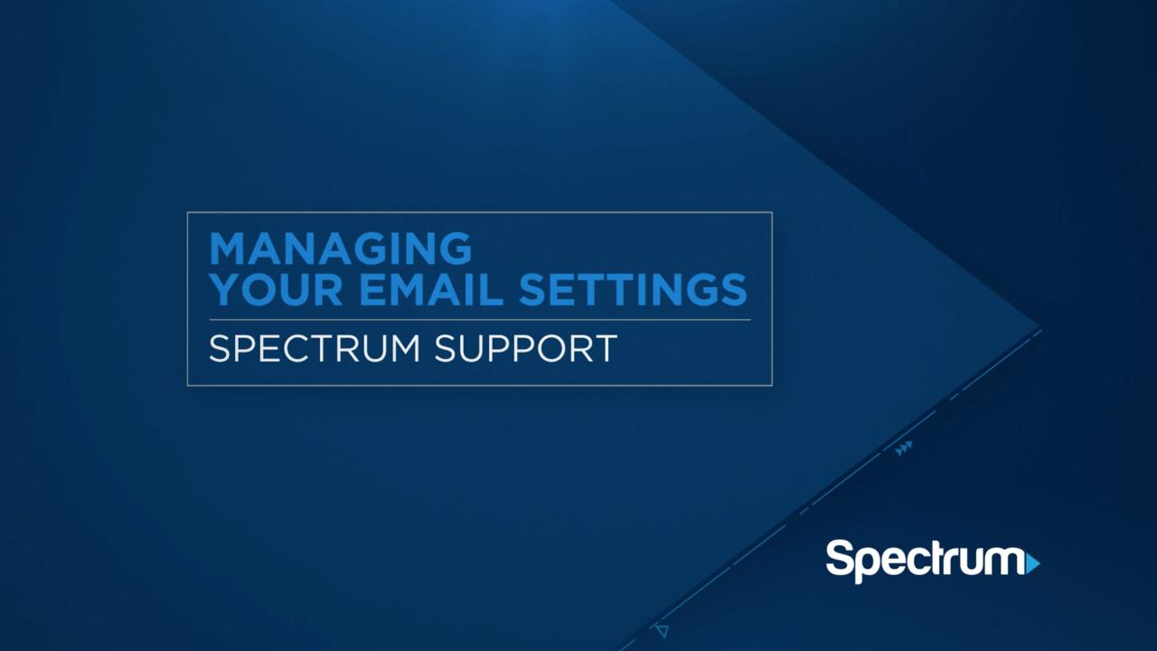 Setting up Spectrum Email on Your Mobile Device | Spectrum