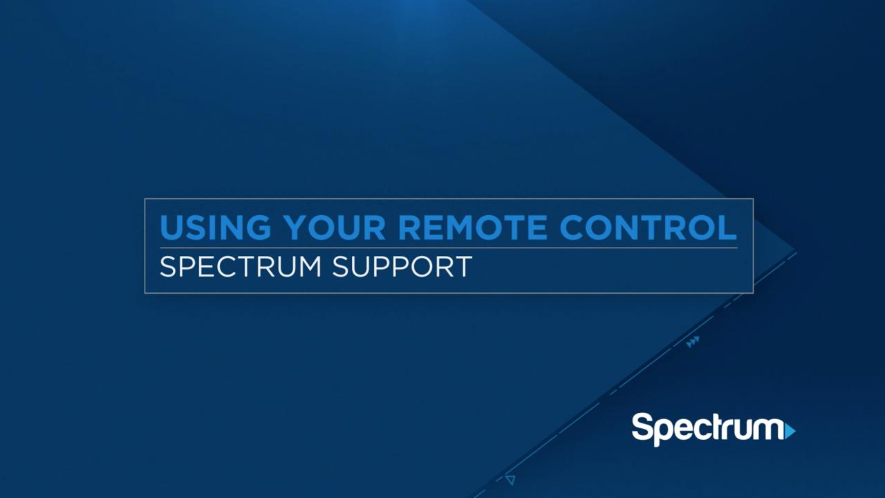 Spectrum Remote Controls - 1060BC2/1060BC3 | Spectrum Support